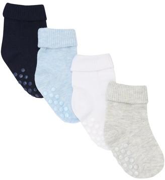 M&Co Plain socks four pack