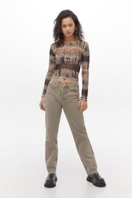 BDG Pax Mocha Straight Leg Jeans - Brown 24 at Urban Outfitters