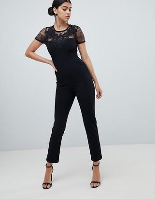 AX Paris jumpsuit with lace detail