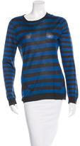 Jason Wu Silk Striped Top