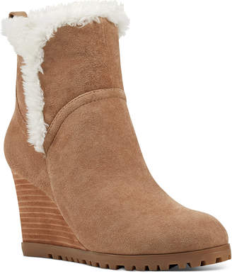 Nine West Cici Wedge Booties Women Shoes
