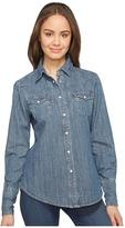Stetson Boyfriend Fit Classic Western Shirt Women's Clothing