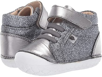 Old Soles Ring Pave (Infant/Toddler) (Glam Gunmetal/Rich Silver) Boy's Shoes