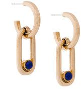 Pamela Love Beaumont lapis earrings
