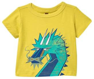 Tea Collection Tiptop Dragon T-Shirt (Baby Boys)