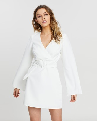 NA-KD Open Back Mini Dress