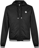 Dolce & Gabbana Black Hooded Shell Jacket