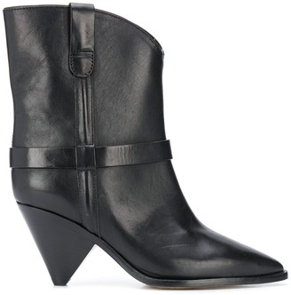 Isabel Marant Limza high-ankle leather boots