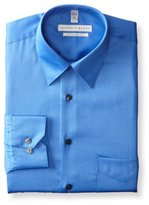 Geoffrey Beene Men's Regular Fit Sateen Dress Shirt