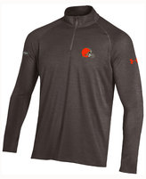 Under Armour Men's Cleveland Browns Twist Tech Quarter Zip Pullover