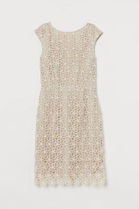 H&M Lace Dress - Beige