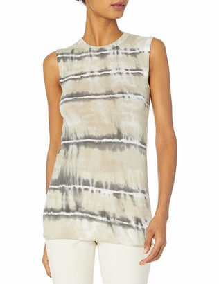 Enza Costa Women's Tissue Jersey Fitted Muscle Tank