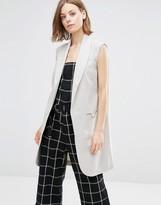 Shades of Grey Shades of Gray Sleeveless Coat