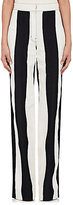 Derek Lam Women's Striped Cotton-Linen Wide-Leg Pants