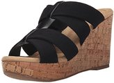 XOXO Women's Brenna Wedge Sandal