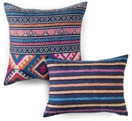 Vera Wang Azalea Skye Kilim Stripe 2 Piece Pillow Set Bedding