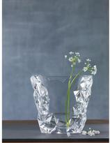 Nachtmann Sculpture 8 in. Crystal Decorative Oval Vase