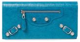 Balenciaga Giant Money Leather Continental Wallet