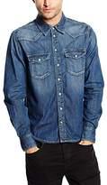 Pepe Jeans Men's Carson Regular Fit Long Sleeve Casual Shirt