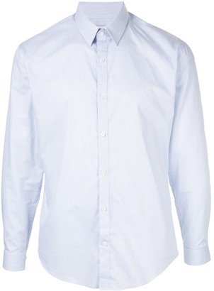Cerruti plain button shirt