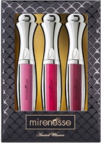 Mirenesse Supreme Holiday Velvet Lip Plumper Crystal Shine Trio - Full Size