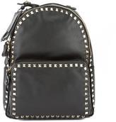Valentino Black Leather Medium Rockstud Backpack (New with Tags)