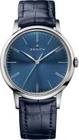 Zenith 032272615051C700 Elite blue watch