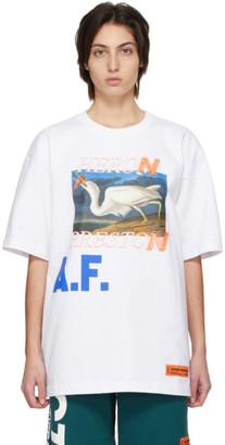 Heron Preston White Heron A.F. T-Shirt