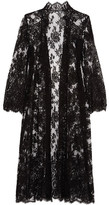 I.D. Sarrieri Petits Plaisirs Chantilly Lace Coat - Black
