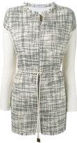 Fabiana Filippi longline jacket - women - Cotton/Polyester - 44