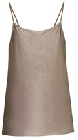 ARJUNA.AG Silver-plated cami top