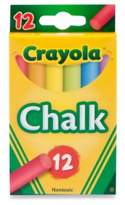 Crayola Multi-Colored Children's Chalk (12-Count)