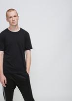 Issey Miyake black bio t-shirt