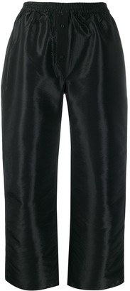 Cecilie Bahnsen Cropped Wide-Leg Trousers
