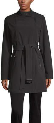 Liz Claiborne Belted Lightweight Trench Coat