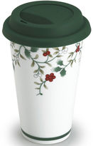 Pfaltzgraff Winterberry Porcelain Travel Mug with Lid