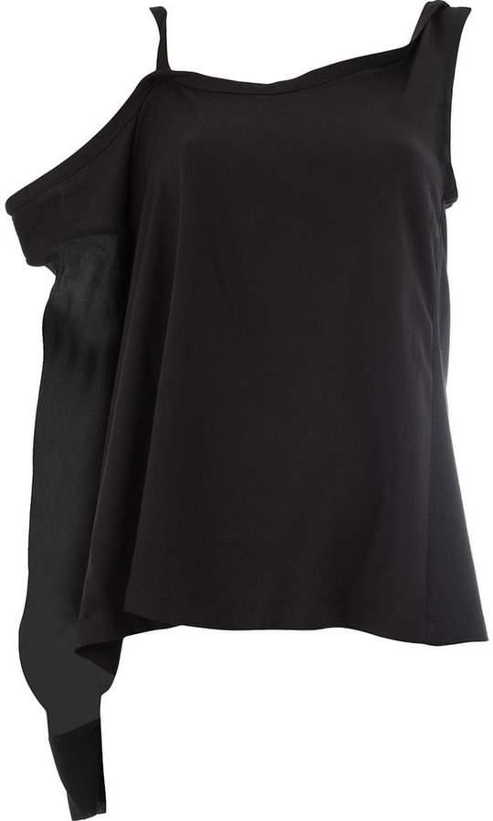 Ann Demeulemeester asymmetrical sleeve top