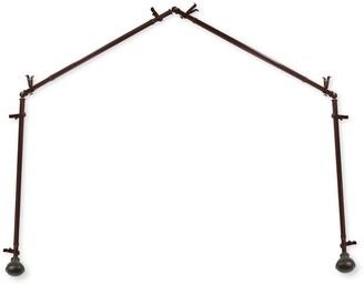 Rod Desyne Magnolia 4 Sided Bay Window Curtain Rod - 28''-48""