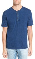 Faherty Men's Short Sleeve Henley