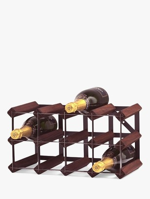 RtA Wood Wine Rack, 12 Bottle