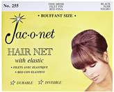 Jac-O-Net Nylon Bouffant Net Black