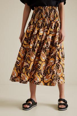Seed Heritage Resort Paisley Skirt