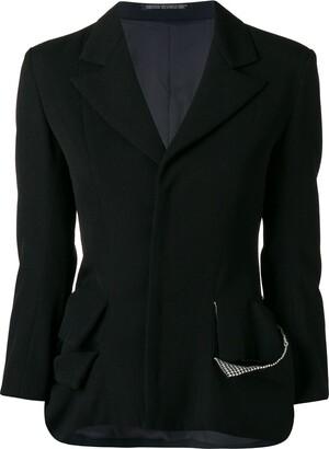 Yohji Yamamoto Pre-Owned deconstructed blazer