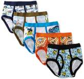 Nickelodeon Little Boys' SpongeBob Brief (Pack of 5)
