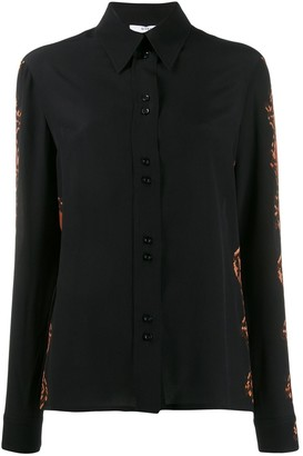 Givenchy Snakeskin Effect Button Up Shirt