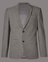 Autograph Textured 2 Button Jacket With Buttonsafetm