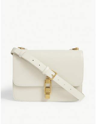 Saint Laurent Carre leather satchel bag