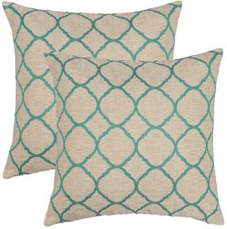 Austin Horn Classics Sunbrella Accord Jade 18-inch Pillow