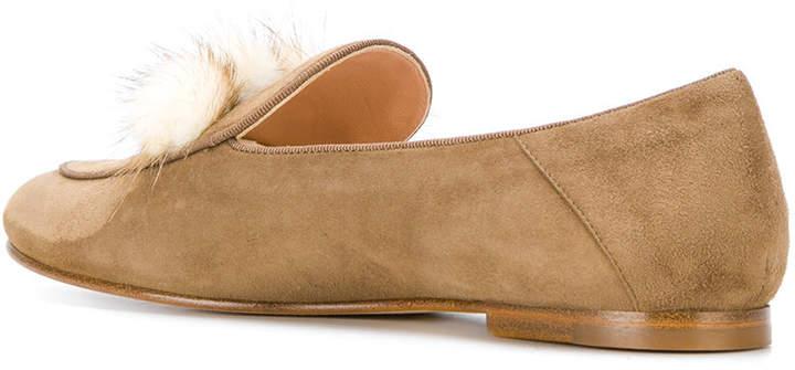 Unützer pompom loafers