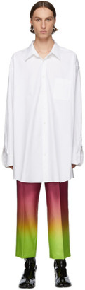 Maison Margiela White Over Fit Shirt